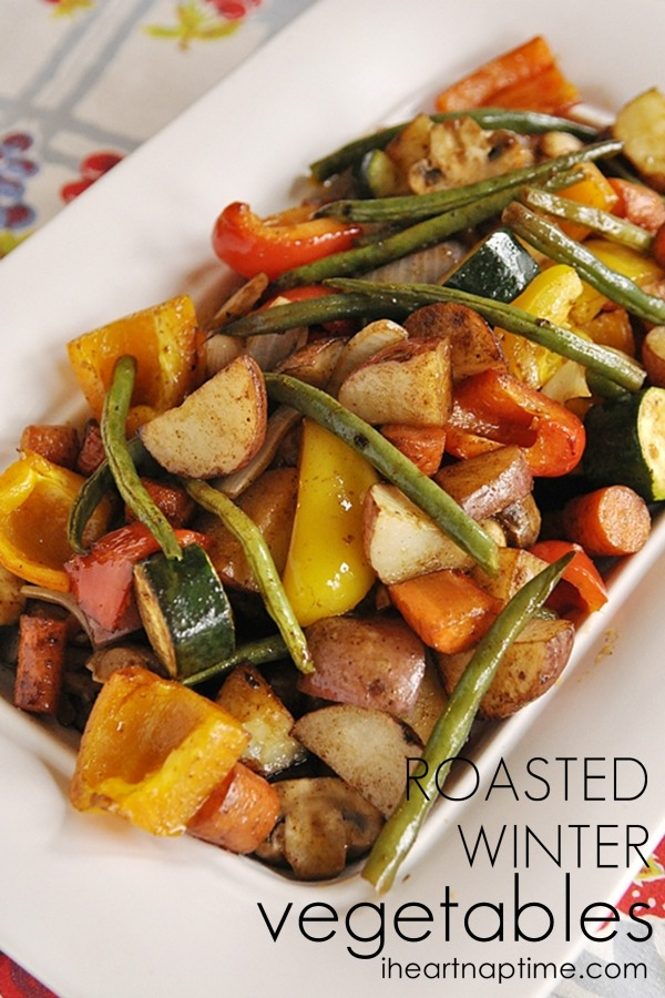 The Best: Roasted Winter Vegetables